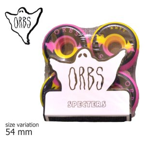 ORBS Wheel オーブス ウィール WELCOME skateboards ウェルカム SPECTERS 99A SK8 PINK YELLOW BLACK スケート スケートボード|crass