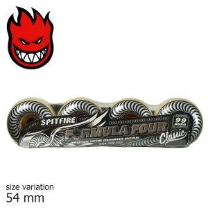 SPITFIRE F4 99D CLASSIC SILVER 54mm スピットファイアー ウィール スケボー スケートボード フォーミュラフォー クラシック パーツ 正規品 タイヤ|crass