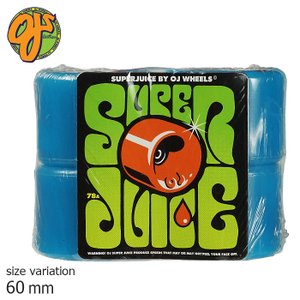 OJ SUPER JUICE 60mm 78A ウィール スーパージュース ソフトウィール クルージング クルーザー パーツ スケートボード スケボー 街乗り|crass