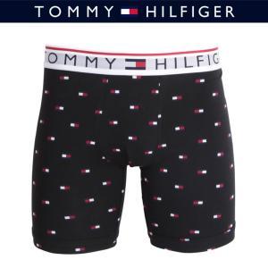 トミーヒルフィガー ボクサーパンツ メンズ ロングサイズ ロゴドット柄 TOMMY HILFIGER  2018|crazyferret