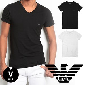 エンポリオアルマーニ EMPORIO ARMANI Tシャツ メンズ Vネック|crazyferret