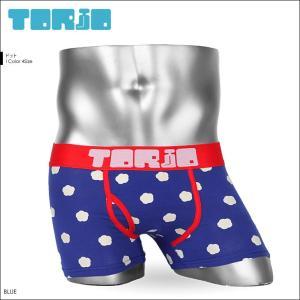 ボクサーパンツ メンズ TORIO トリオ ドット ペア|crazyferret