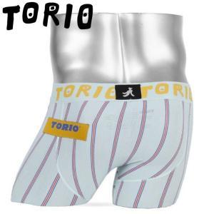 TORIO トリオ ボクサーパンツ メンズ タテシマ|crazyferret
