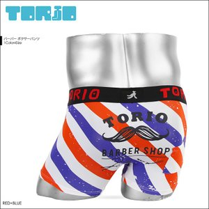 TORIO トリオ ボクサーパンツ メンズ バーバー|crazyferret