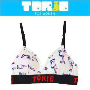 スポーツブラ TORIO レディース レディース 下着 ハンドサイン トリオ|crazyferret