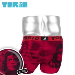ボクサーパンツ メンズ TORIO トリオ ゲバラ|crazyferret