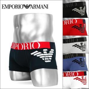 エンポリオアルマーニ ローライズボクサーパンツ メンズ EMPORIO ARMANI FANCY ATHLETICS BIG EAGLE crazyferret