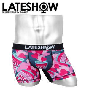 レイトショー ボクサーパンツ メンズ LATESHOW LOVEHOLIC|crazyferret