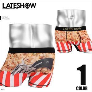 レイトショー LATESHOW ボクサーパンツ メンズ POP GUN|crazyferret