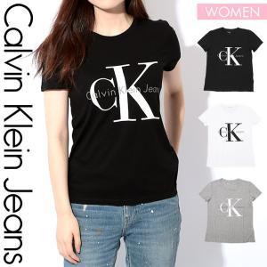カルバンクライン Tシャツ レディース下着 Calvin Klein REISSUE BIG LOGO|crazyferret