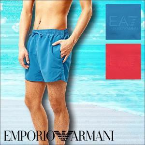 エンポリオアルマーニ 水着 メンズ ショート丈サーフパンツ SEA WORLD ARMANI|crazyferret