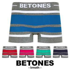 ビトーンズ ボクサーパンツ フリーサイズ メンズ BETONES BREATH|crazyferret