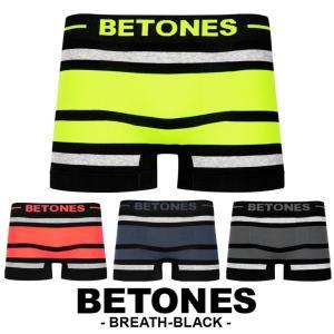 水着インナー メンズ フリーサイズ ビトーンズ ボクサーパンツ ブランド BREATH BLACK BETONES|crazyferret