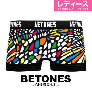 ビトーンズ BETONES CHURCH レディース ボクサーパンツ ボクサーショーツ|crazyferret