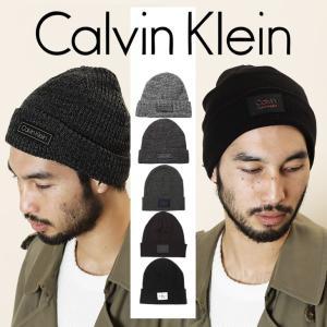 カルバンクライン ニット帽 メンズ Calvin Klein Jeans REISSUE LOGO CK|crazyferret