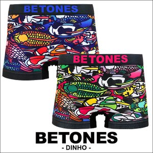 ビトーンズ ボクサーパンツ フリーサイズ メンズ BETONES DINHO|crazyferret
