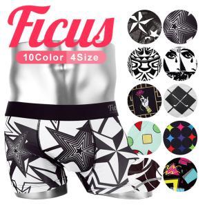 FICUS フィークス ボクサーパンツ メンズ Geometric Star|crazyferret
