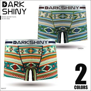 ダークシャイニー ボクサーパンツ メンズ DARK SHINY Ethnic|crazyferret