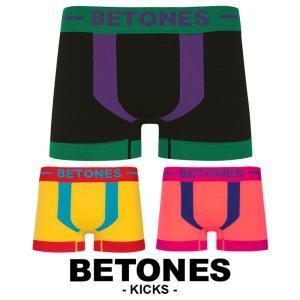 ビトーンズ BETONES ボクサーパンツ メンズ kicks|crazyferret
