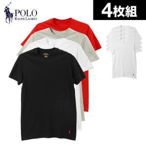 ラルフローレン Tシャツ 4枚セット 半袖 クルーネック メンズ ポロ 2018 新作|crazyferret