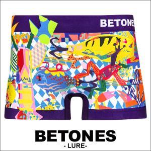 ビトーンズ BETONES ボクサーパンツ メンズ LURE|crazyferret