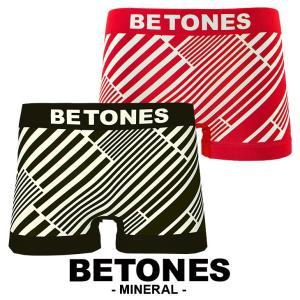ビトーンズ ボクサーパンツ メンズ フリーサイズ MINERAL BETONES|crazyferret