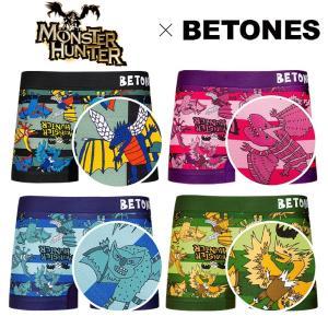 BETONES ボクサーパンツ メンズ モンスターハンター モンハン アイスボーン MONSTER ...