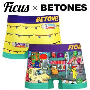 ビトーンズ BETONES x FICUS ボクサーパンツ メンズ MONSTER STREET|crazyferret