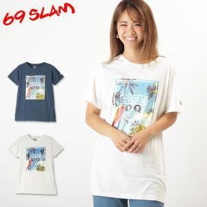 69スラム Tシャツ メンズ 半袖 SMIRKING SKY 69SLAM|crazyferret