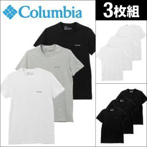Tシャツ 3枚セット コロンビア 半袖 クルーネック メンズ Columbia|crazyferret