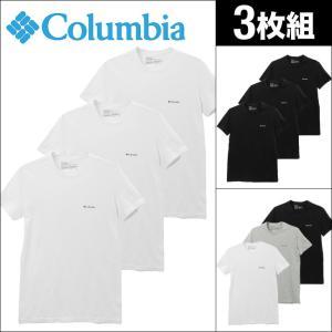 Tシャツ 3枚セット コロンビア 半袖 クルーネック メンズ Columbia 2018 新作|crazyferret