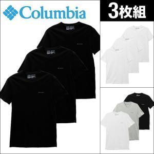 コロンビア 半袖 Vネック Tシャツ 3枚セット メンズ Columbia|crazyferret