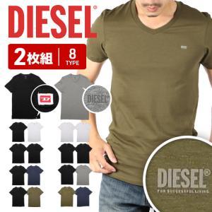 ディーゼル Tシャツ 3枚セット Vネック 半袖 メンズ DIESEL|crazyferret