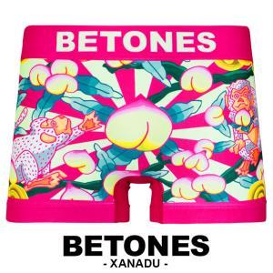 ビトーンズ ボクサーパンツ メンズ もも 新作 2018 BETONES XANADU crazyferret
