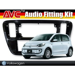 1DINオーディオ/ナビ取付キット - VW Up! (フォルクスワーゲン アップ) ピアノブラック