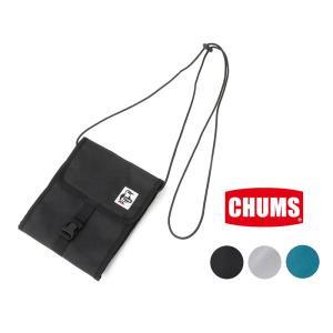 チャムス スプルース ポケットオーガナイザー CHUMS正規品 ナイロン サコッシュ ショルダーバッ...