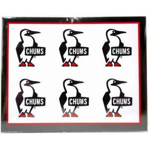 チャムス CHUMS ステッカー ブービーバード ミニ 620009 シール ラッピング不可|creak-net