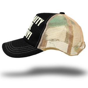大きいサイズ 帽子 ヘンプ ラウンドキャップ ブラック ベージュ黒 耳出し スポーツキャップ BIGWATCH ダメージ加工無し|creak-net