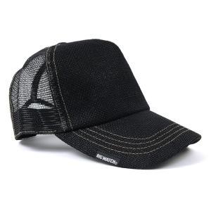 帽子 メンズ 大きいサイズ 無地 ヘンプキャップ BIGWATCH 黒 creak-net 02