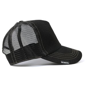 帽子 メンズ 大きいサイズ 無地 ヘンプキャップ BIGWATCH 黒 creak-net 04