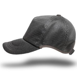 帽子 メンズ 大きいサイズ 無地 ラウンドメッシュキャップ BIGWATCH グレー|creak-net