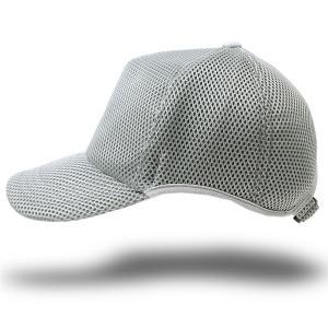 予約商品/9月25日入荷/帽子 メンズ 大きいサイズ 無地 ラウンドメッシュキャップ BIGWATCH ライトグレー|creak-net