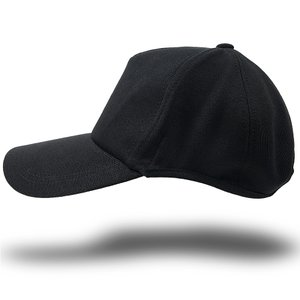 大きいサイズ 帽子 メンズ つばロングVer ラウンドスウェットキャップ BIGWATCH オールブラック黒|creak-net
