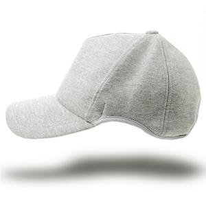 大きいサイズ 帽子 メンズ 無地 ラウンドスウェットキャップ BIGWATCH MIXグレー|creak-net