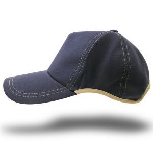 大きいサイズ 帽子 つばロングVer スポーツキャップ ラウンドスウェットキャップ   ネイビー 紺 ランニングキャップ BIGWATCH|creak-net