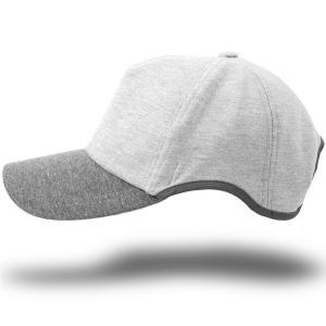 大きいサイズ 帽子 メンズ 無地 ラウンドスウェットキャップ BIGWATCH MIXグレー グレー|creak-net
