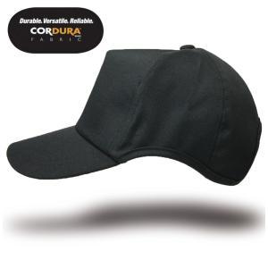 大きいサイズ 帽子 L XL メンズ コーデュラナイロン ラウンドキャップ BIGWATCH ブラック キャップ ビッグワッチ 帽子 CPR-15