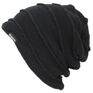 大きいサイズ 帽子 メンズ ニット帽子 ヘンプコンビボーダー  ブラック ベージュ BIGWATCH スピンオフモデル|creak-net