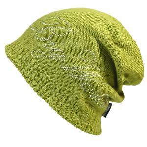 大きいサイズ 帽子 メンズ ニット帽子 プレミアム メタルスタッツ   モスグリーン ニットキャップ creak-net