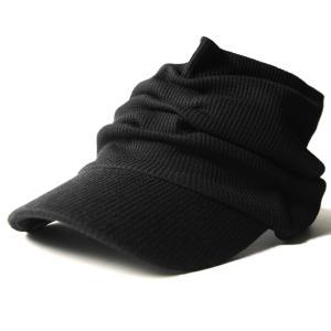 大きいサイズ 帽子 メンズ サンバイザー サーマル ターバン...